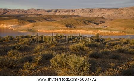Lake Powell in Glen Canyon National Recreation Area Utah