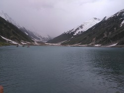 Lake Saiful Muluk is a mountainous lake located at the northern end of the Kaghan Valley, near the town of Naran in the Saiful Muluk National Park. The lake is a source of the Kunhar river.