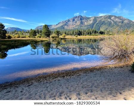 Lake Tahoe California Kiva Beach Stock photo ©