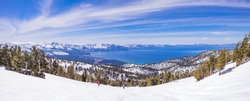 Lake Tahoe from Heavenly Resort - skiing - Activity all over