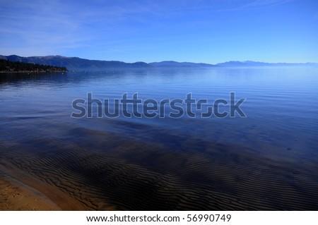 Lake Tahoe ocean view