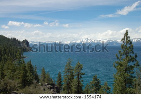 Lake Tahoe View from the Southeast Shore