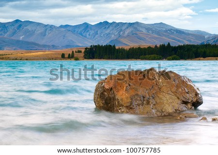 Lake Tekapo and Southern Alps, New Zealand