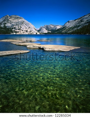 Lake Tenaya, Yosemite National Park, California