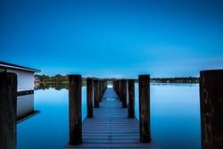 lake virginia florida long exposure