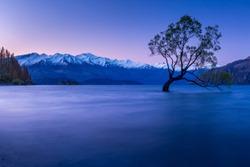 Lake Wanaka in NewZealand
