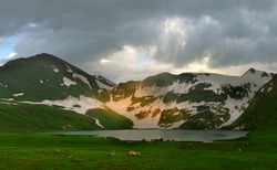 lakes in northern areas of gilgit baltistan ,Pakistan