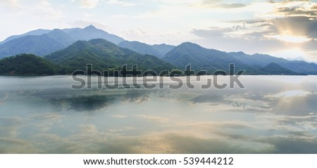 Lakes Mountains - Shutterstock ID 539444212