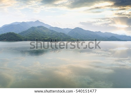 Lakes Mountains - Shutterstock ID 540151477