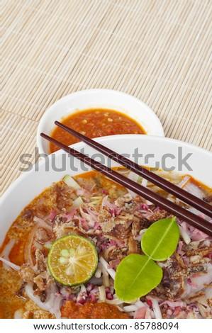 Laksa Johor. Laksa Johor is traditional food in Malaysia
