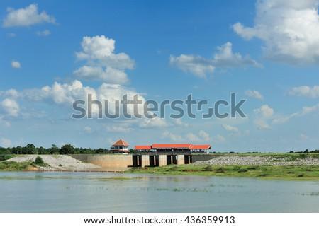 Lam Pao dam, kalasin,Thailand #436359913