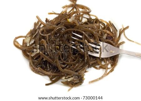 laminaria and fork