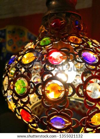 lamp in Oriental style #1355021132