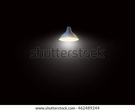 lamp Lighting Black background