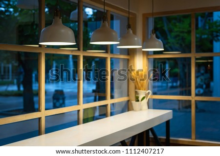 Free Photos Modern Loft Cafe With Brick Wall Interior Design
