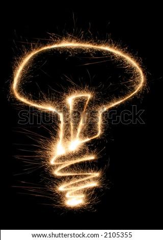 lamp sparkler