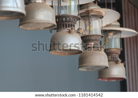 lamplight vintage decorate