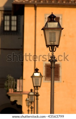 lamps in Florence