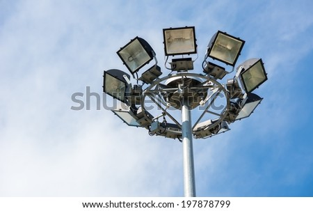 Lamps on Super highway.
