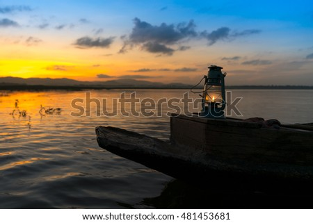 Shutterstock Lamps on the fishing boat
