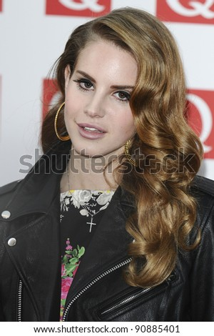 Lana Del Rey arriving for the Q magazine Awards 2001 at the Grosvenor House Hotel, London. 24/10/2011 Picture by: Steve Vas / Featureflash