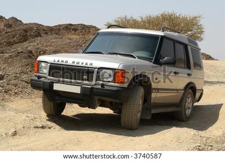 Land Rover Discovery Off Roading 4x4 in Hajar Mountains Dubai UAE