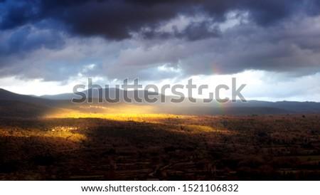 Landcape in Megalopoli, Arcadia, Greece #1521106832