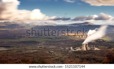 Landcape in Megalopoli, Arcadia, Greece #1521107144