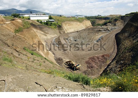 Landfill site near Quito, Ecuador