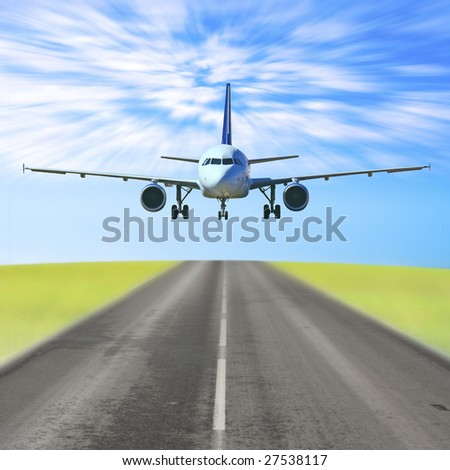 Landing or taking off