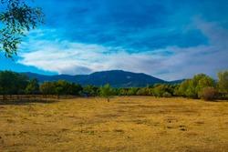 Landscae of Chiscon madrid españa
