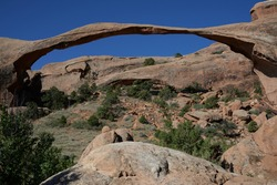 Landscape Arch at Arches National Park, Utah, USA