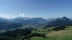 Landscape Cerniat Gruyere Fribourg paysage