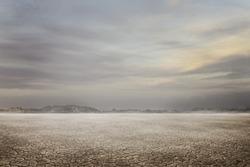 landscape dry ground