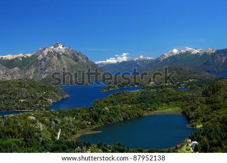 landscape from bariloche, Argentina