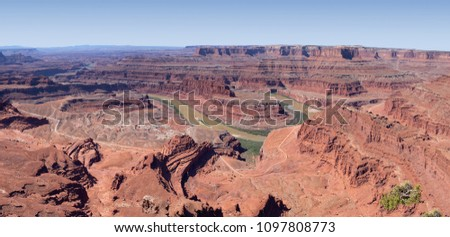 Landscape from Dead Horse Point State Park, Utah