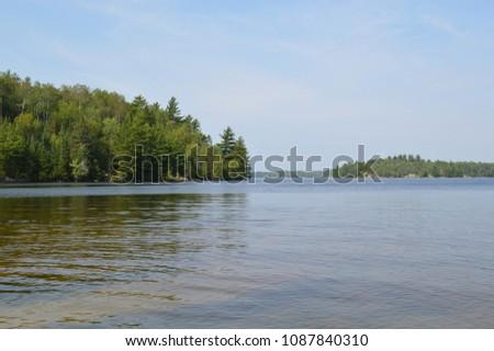 Landscape in Boundary Waters #1087840310