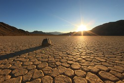 Landscape in Death Valley National Park, California
