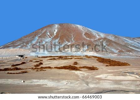 Landscape in Peru - stock photo