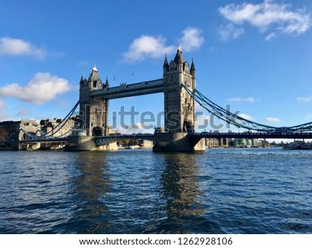 Landscape london bridge