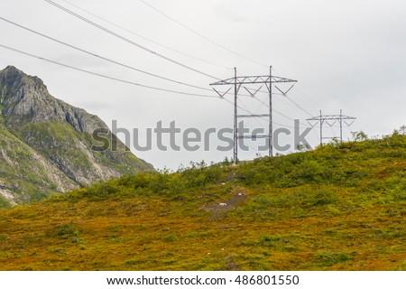 Landscape near Orsta, Norway #486801550