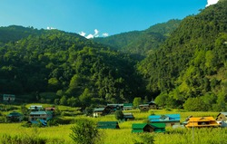 landscape of Azad jammu Kashmir