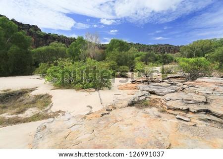 Landscape of Kakadu National Park, Australia - stock photo