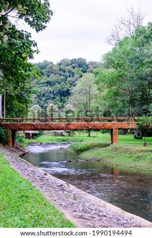 Landscape of Phu Sang National Park, Phayao Province. Photo stock ©