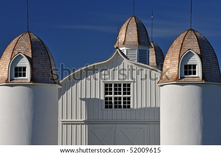 Landscape Of Restored Barn On The Historic D H Day