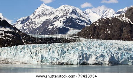 Landscape of Scenery of Glacier Bay in Alaska