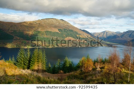 Landscape of Scotland