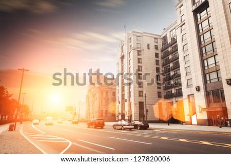 landscape of shanghi,Vintage building exterior