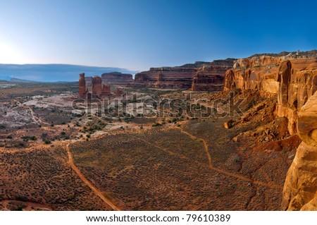 Landscape of southwest USA.