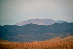 Landscape of the Atacama desert in Chile